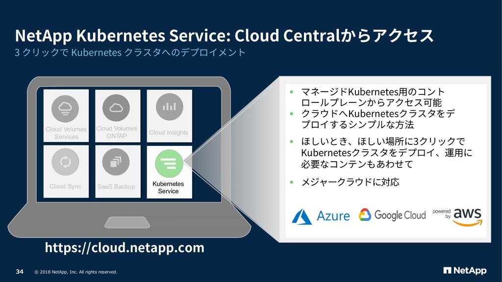 Cloud Volumes Services Cloud Volumes ONTAP Clou...