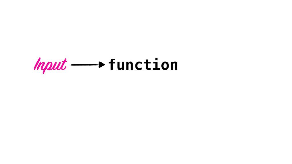 function Input