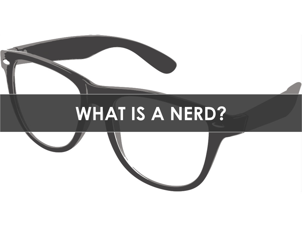 WHAT IS A NERD?