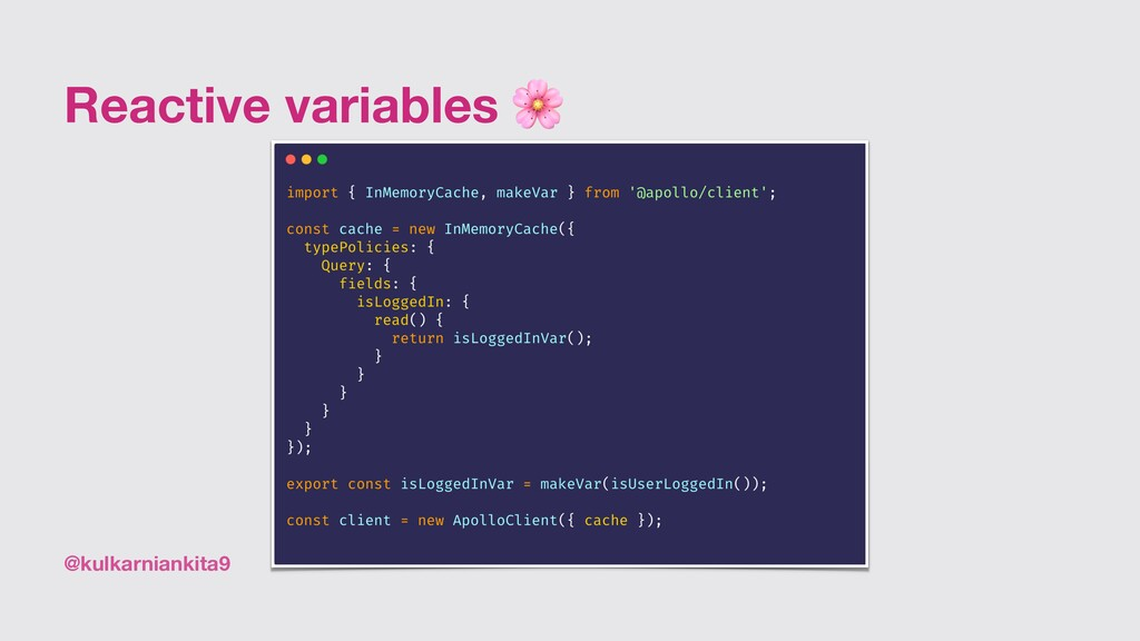 @kulkarniankita9 Reactive variables 🌸