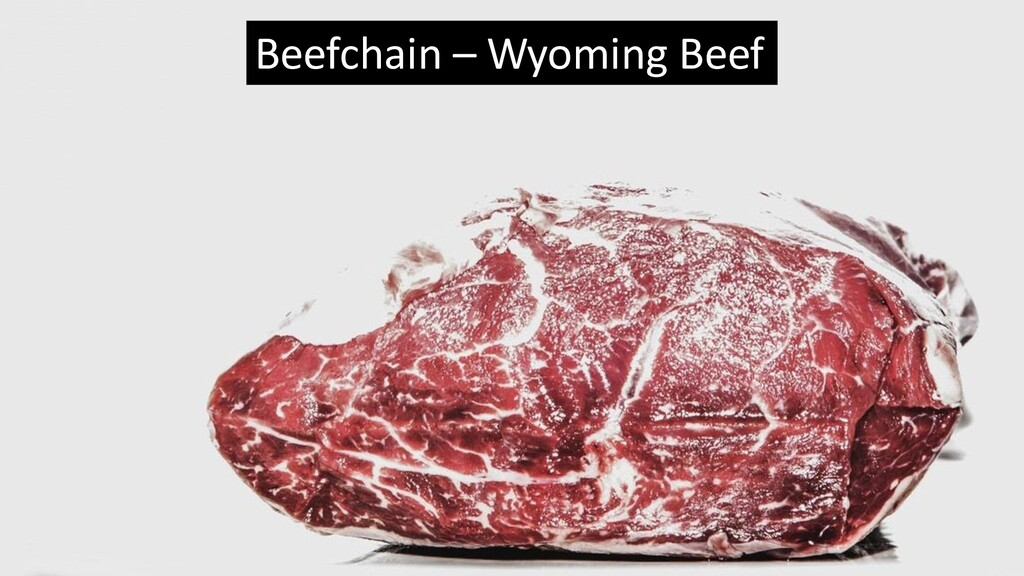 Beefchain – Wyoming Beef
