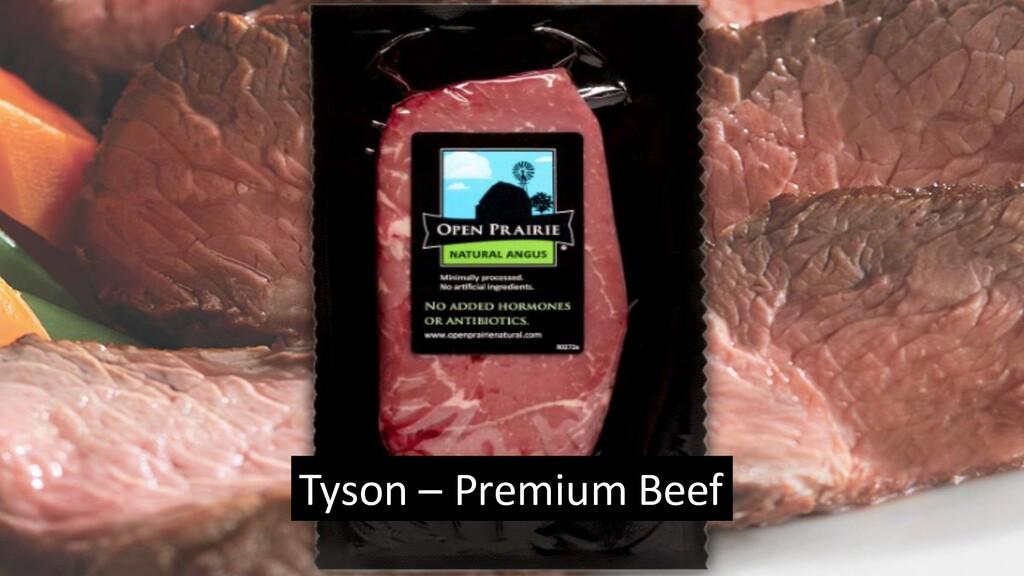 Tyson – Premium Beef