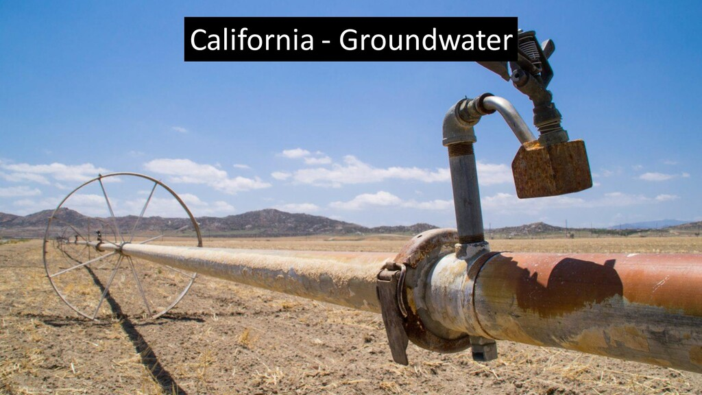 California - Groundwater