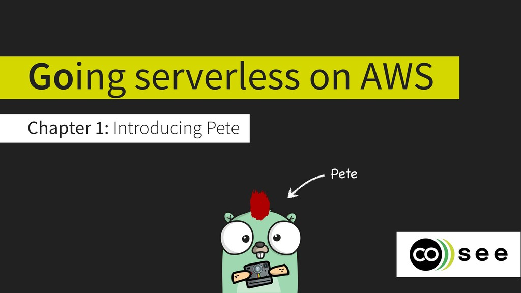 Going serverless on AWS Chapter 1: Introducing ...
