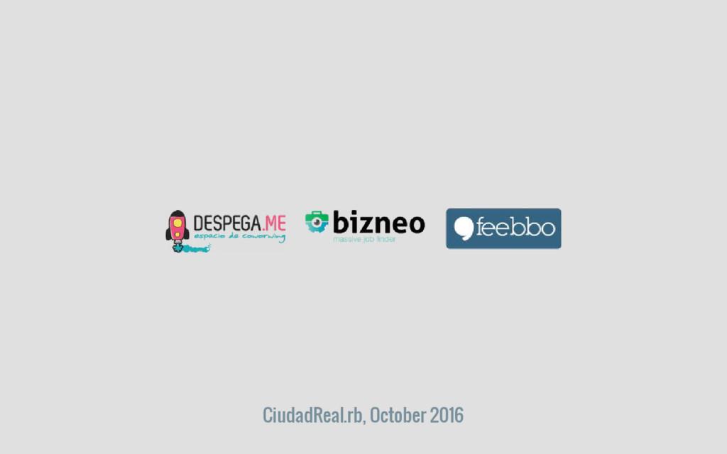 CiudadReal.rb, October 2016
