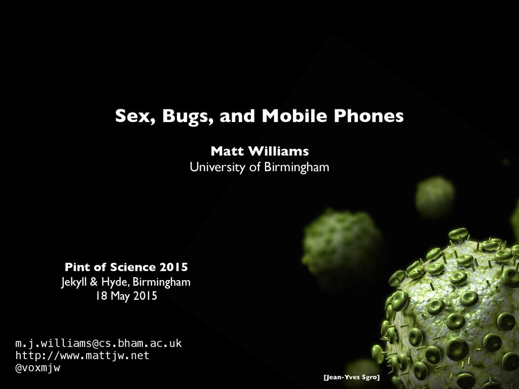 Pint of Science 2015 Jekyll & Hyde, Birmingham ...