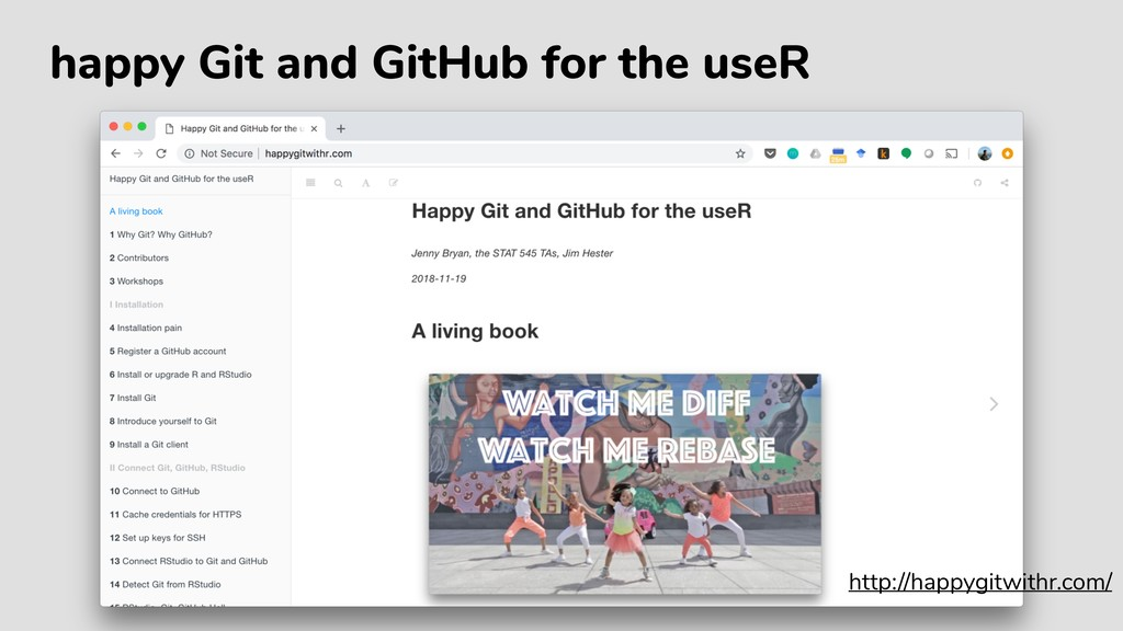 happy Git and GitHub for the useR http://happyg...