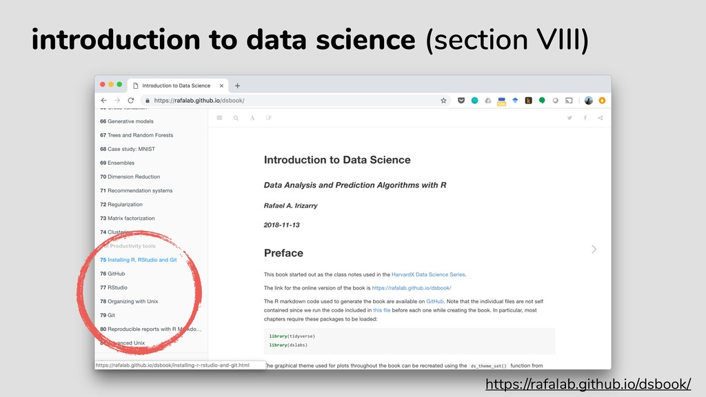 introduction to data science (section VIII) htt...