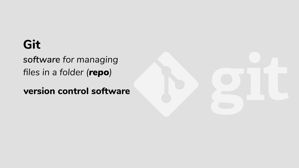 version control software Git software for manag...