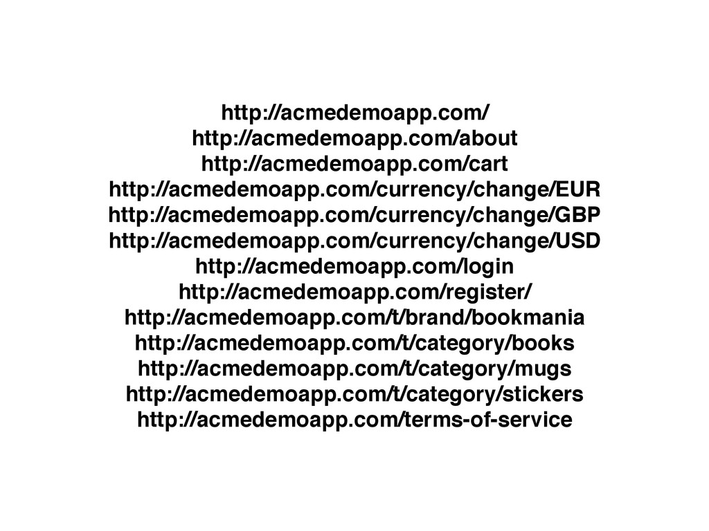 http://acmedemoapp.com/ http://acmedemoapp.com/...