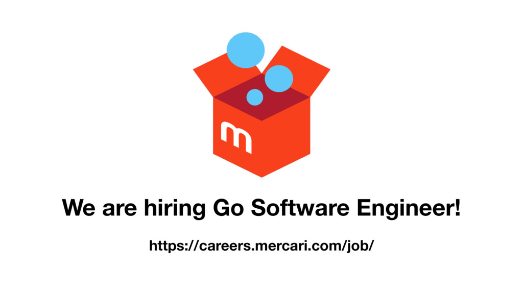 We are hiring Go Software Engineer! https://car...