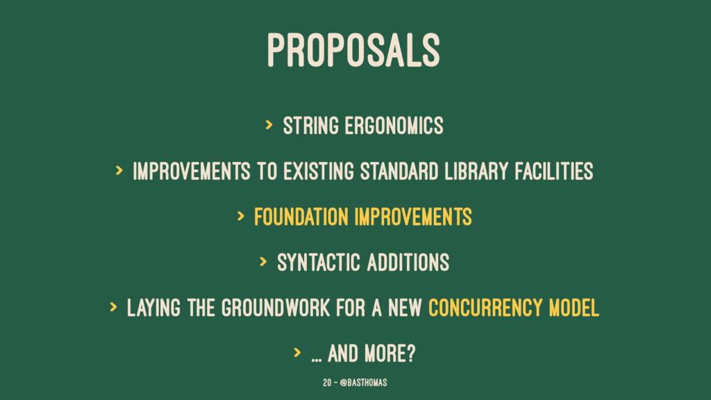 PROPOSALS > String ergonomics > Improvements to...