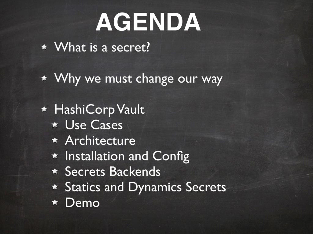 What is a secret? Why we must change our way Ha...