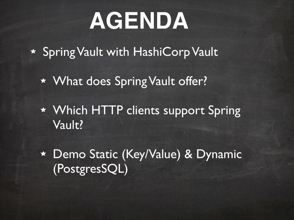 Spring Vault with HashiCorp Vault What does Spr...