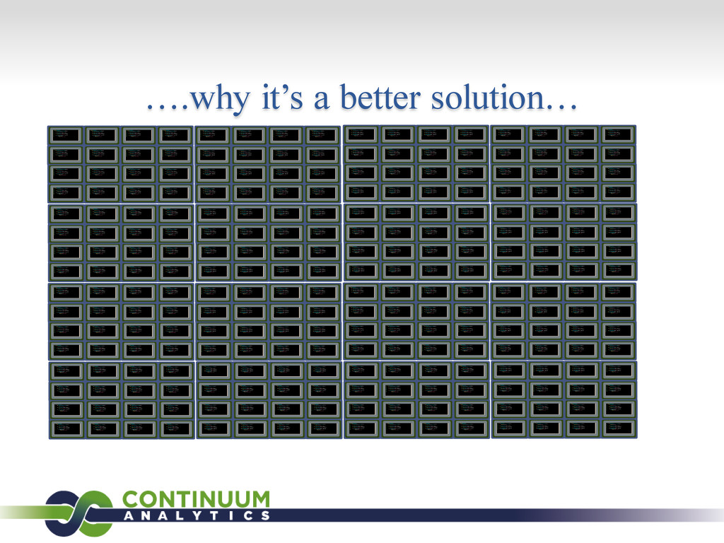 ….why it's a better solution…