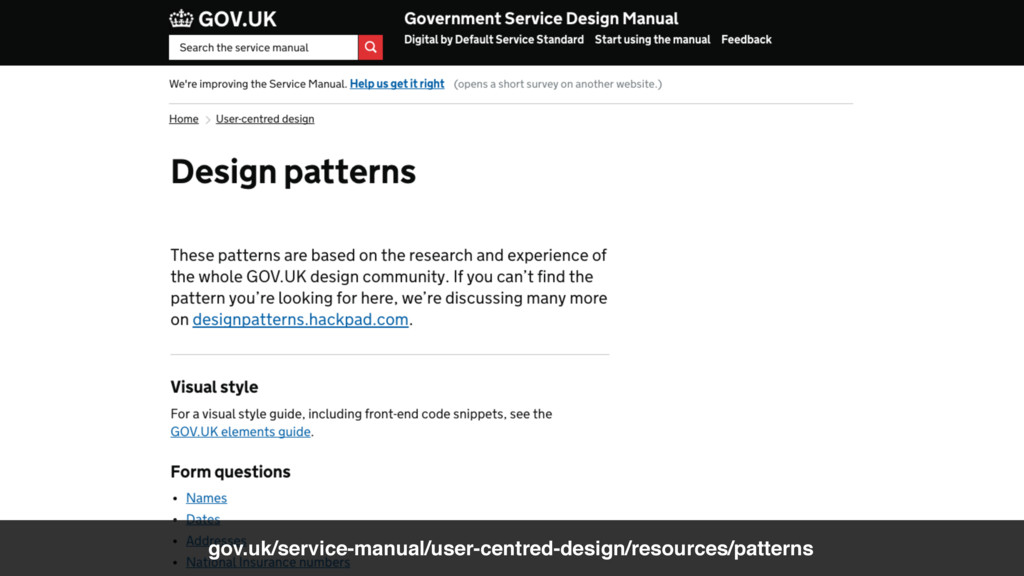 @benholliday UX & PM gov.uk/service-manual/user...