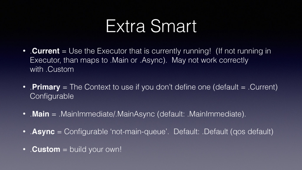 Extra Smart • .Current = Use the Executor that ...