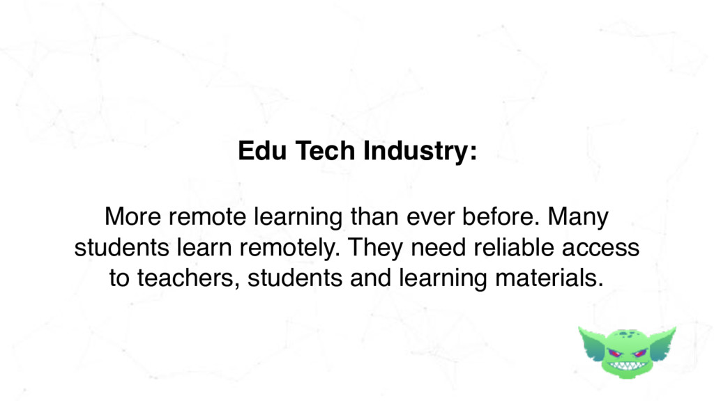 More remote learning than ever before. Many stu...