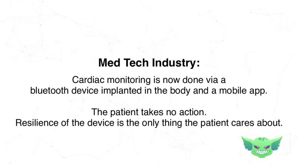Cardiac monitoring is now done via a bluetooth ...