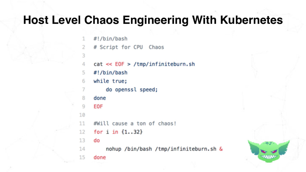 Host Level Chaos Engineering With Kubernetes