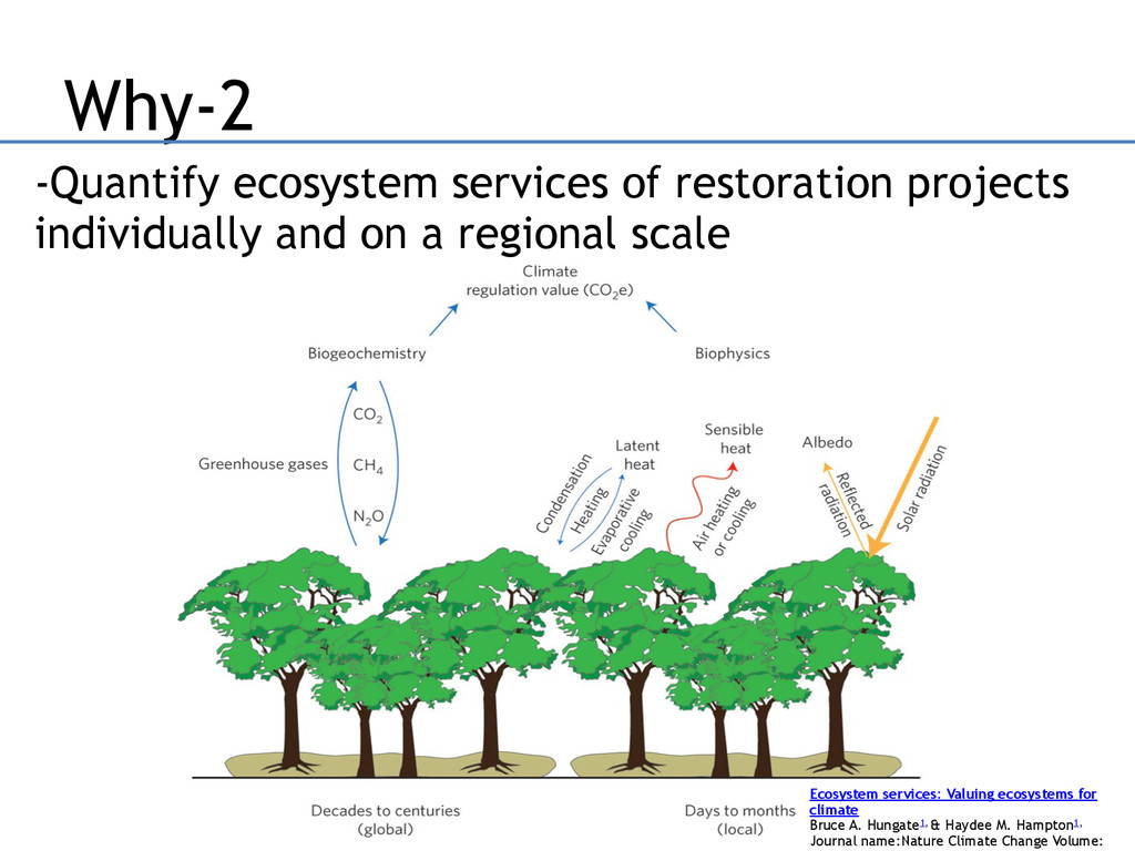 Why-2 -Quantify ecosystem services of restorati...