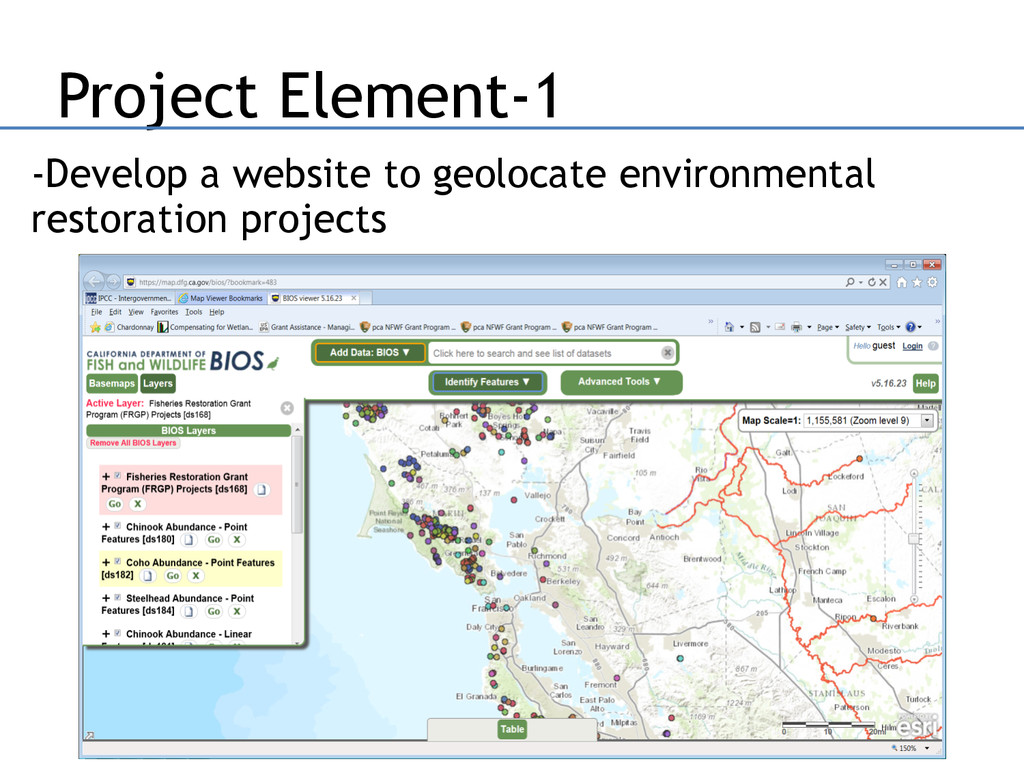 Project Element-1 -Develop a website to geoloca...