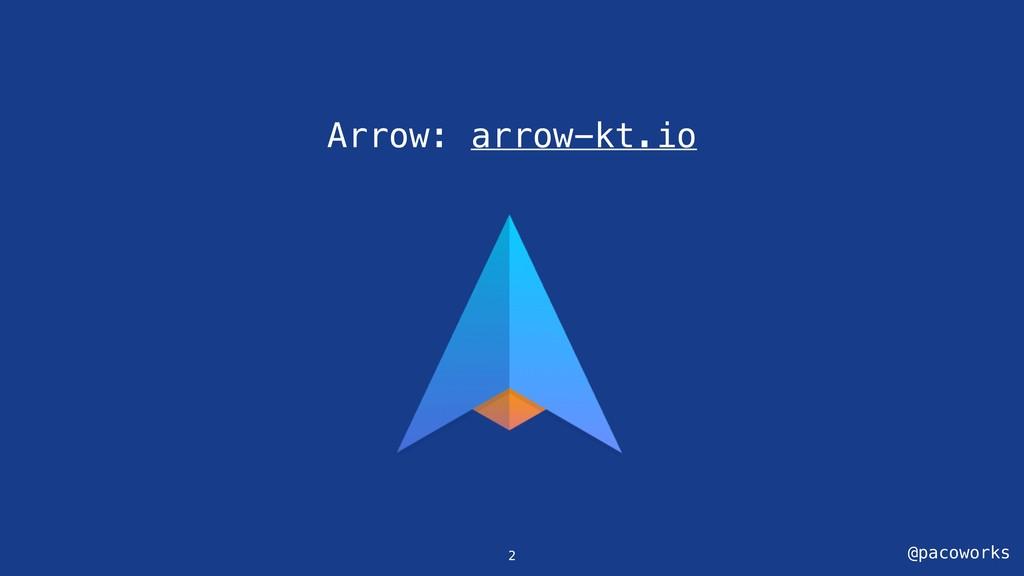 @pacoworks Arrow: arrow-kt.io 2