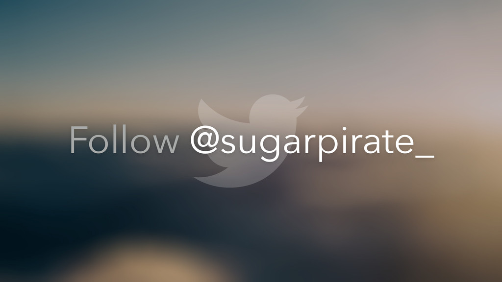 Follow @sugarpirate_