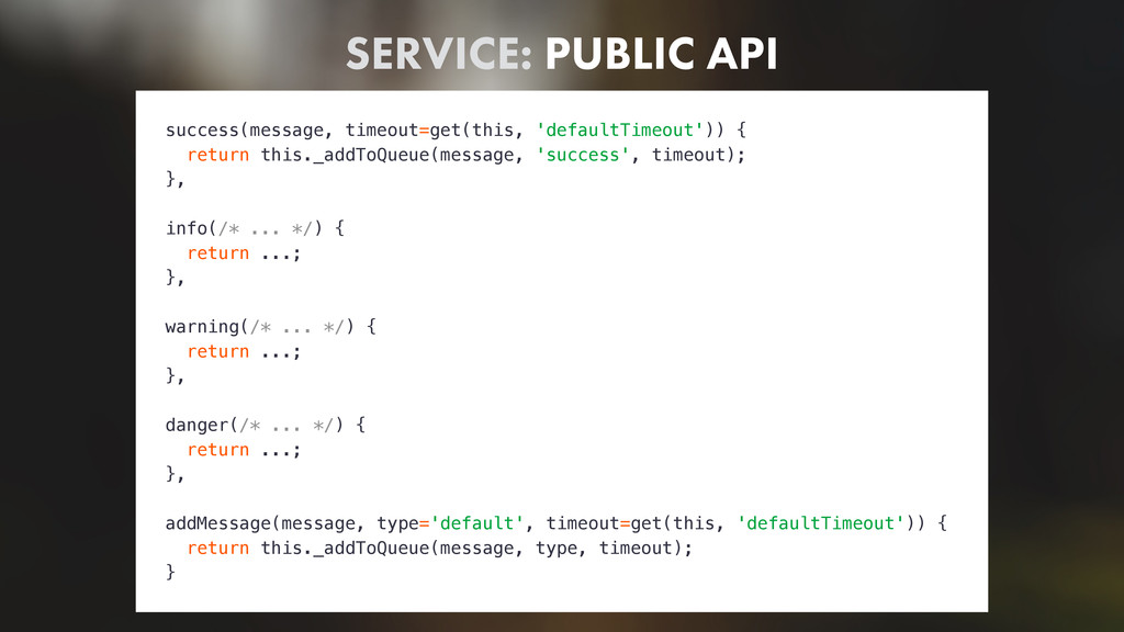 SERVICE: PUBLIC API success(message, timeout=ge...