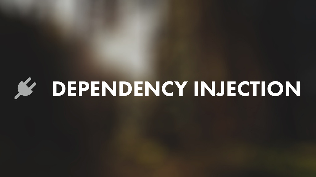 Lj DEPENDENCY INJECTION