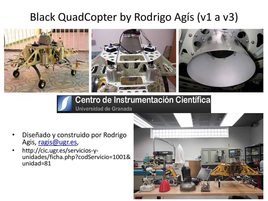 Black QuadCopter by Rodrigo Agís (v1 a v3) • Di...