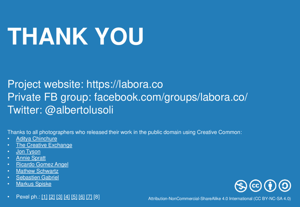 THANK YOU Project website: https://labora.co Pr...