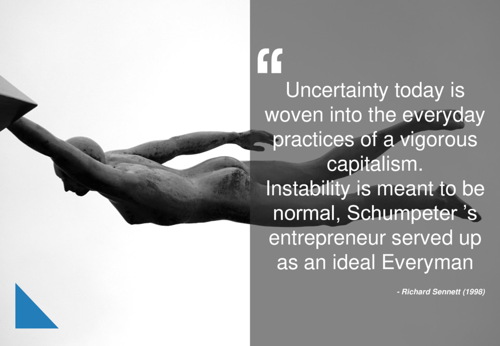 Uncertainty today is woven into the everyday pr...