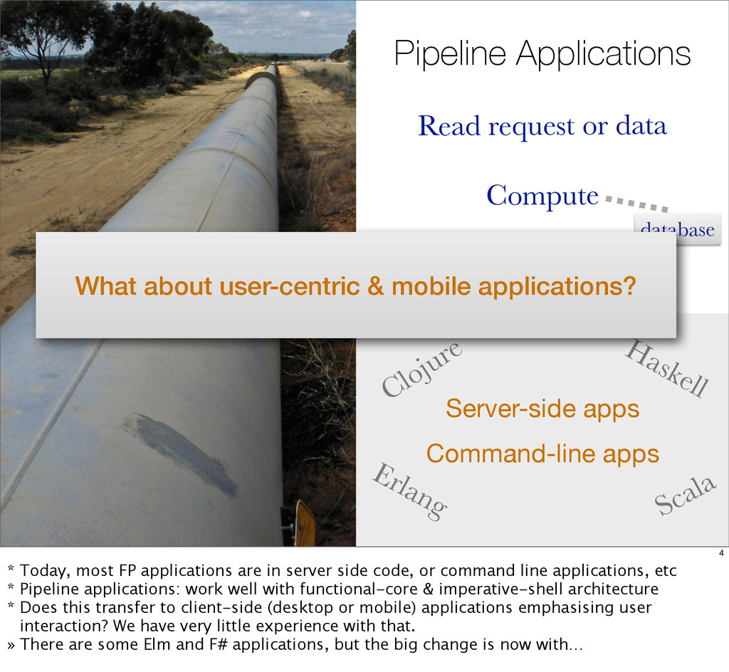 Pipeline Applications Read request or data Comp...