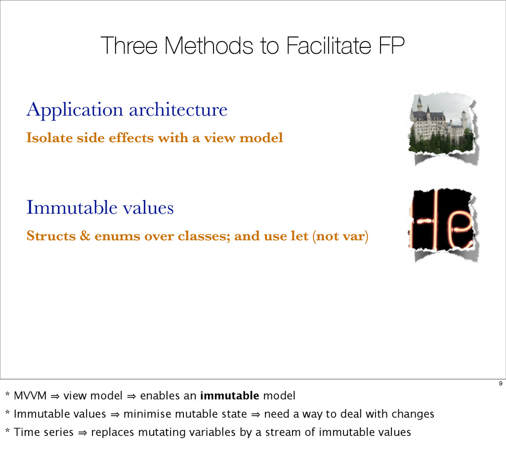 Three Methods to Facilitate FP Application arch...