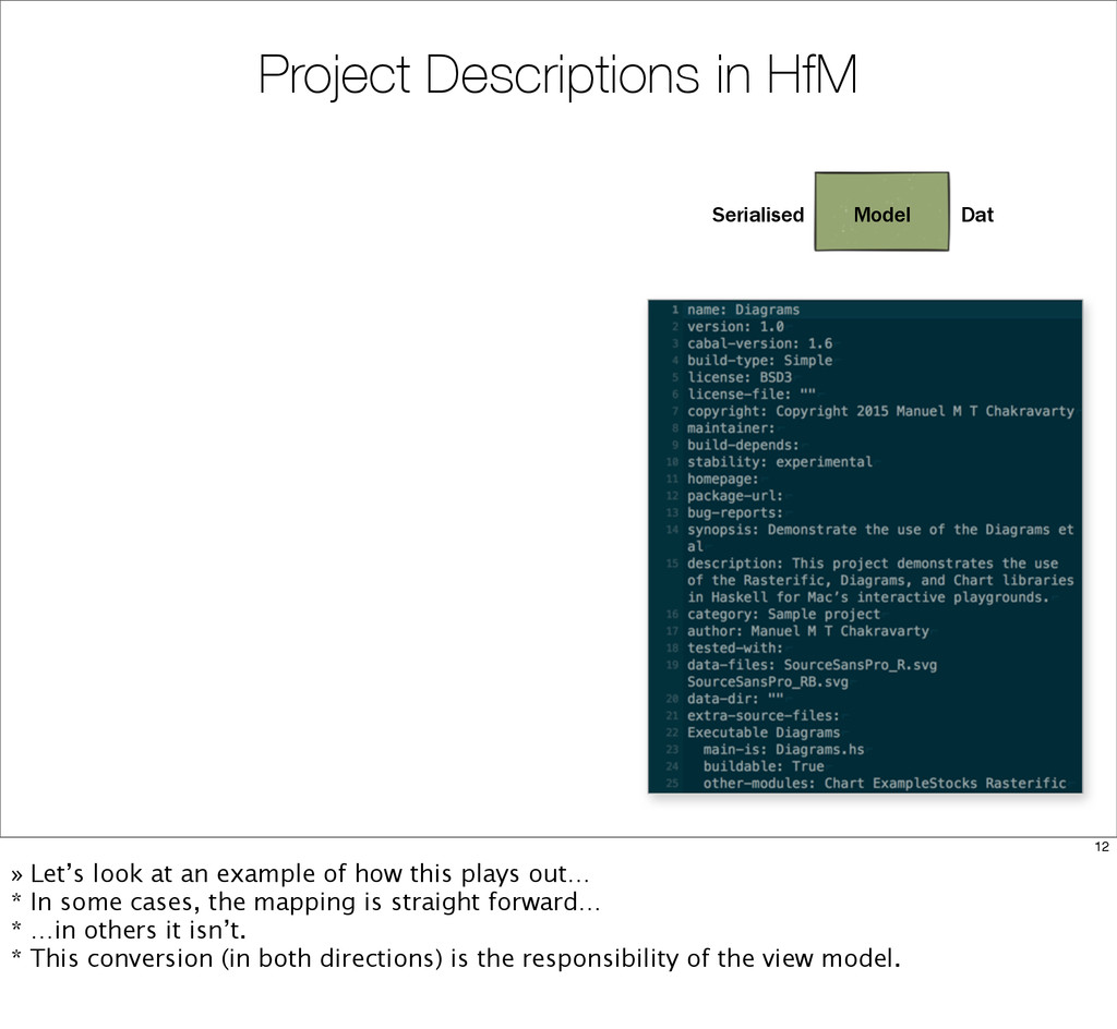 Project Descriptions in HfM Model Serialised Da...