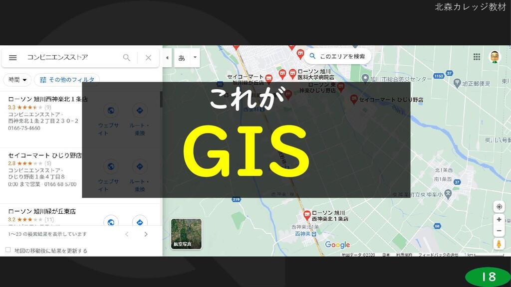 18 北森カレッジ教材 これが GIS