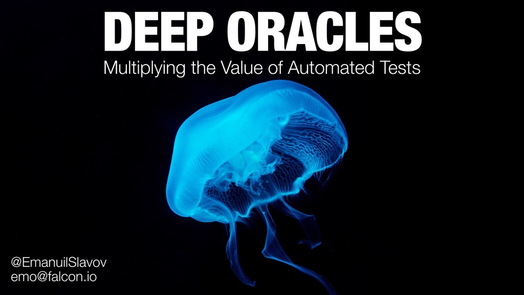 DEEP ORACLES Multiplying the Value of Automated...