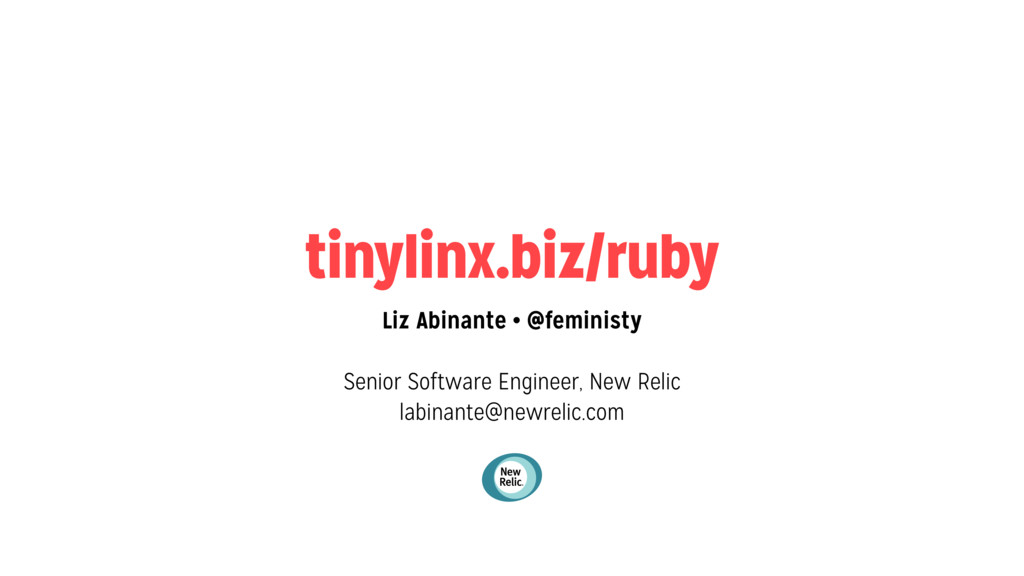 tinylinx.biz/ruby Liz Abinante • @feministy Sen...