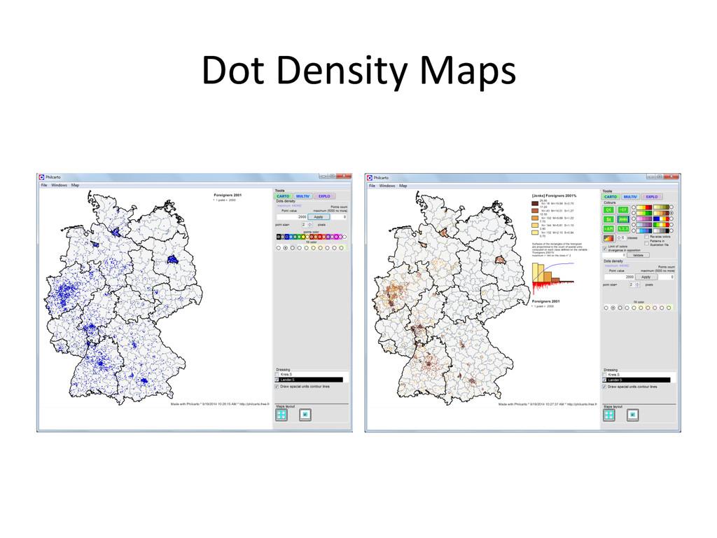 Dot Density Maps