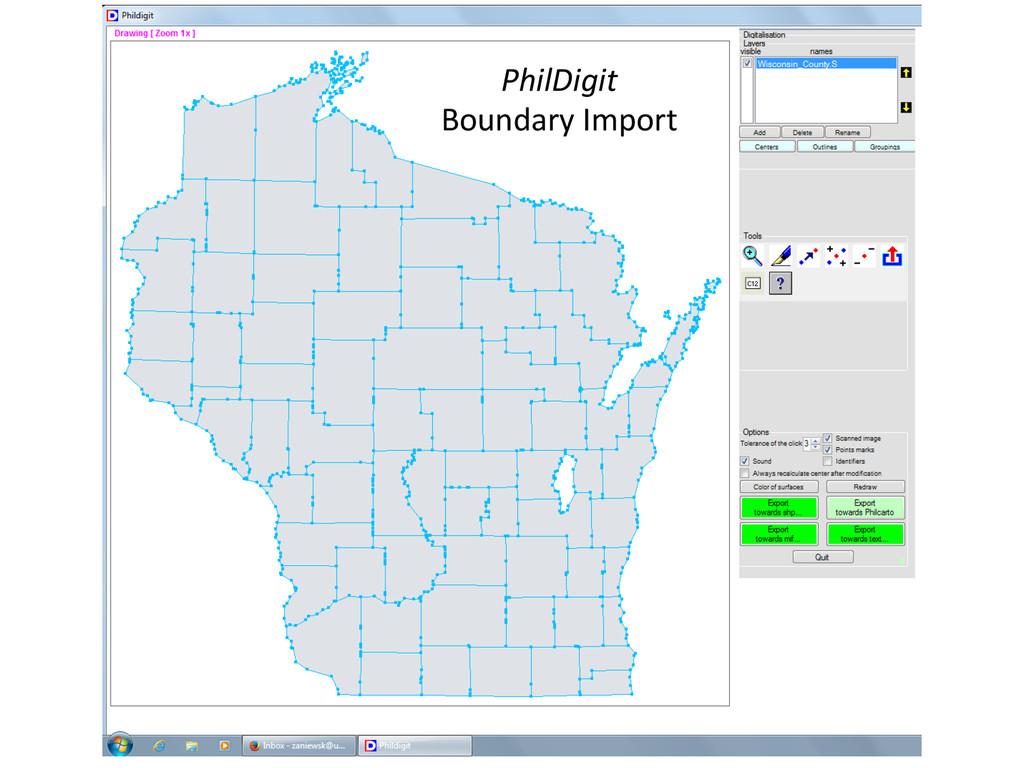 PhilDigit  Boundary Import