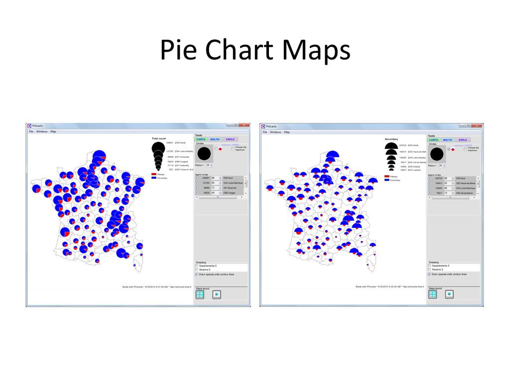 Pie Chart Maps