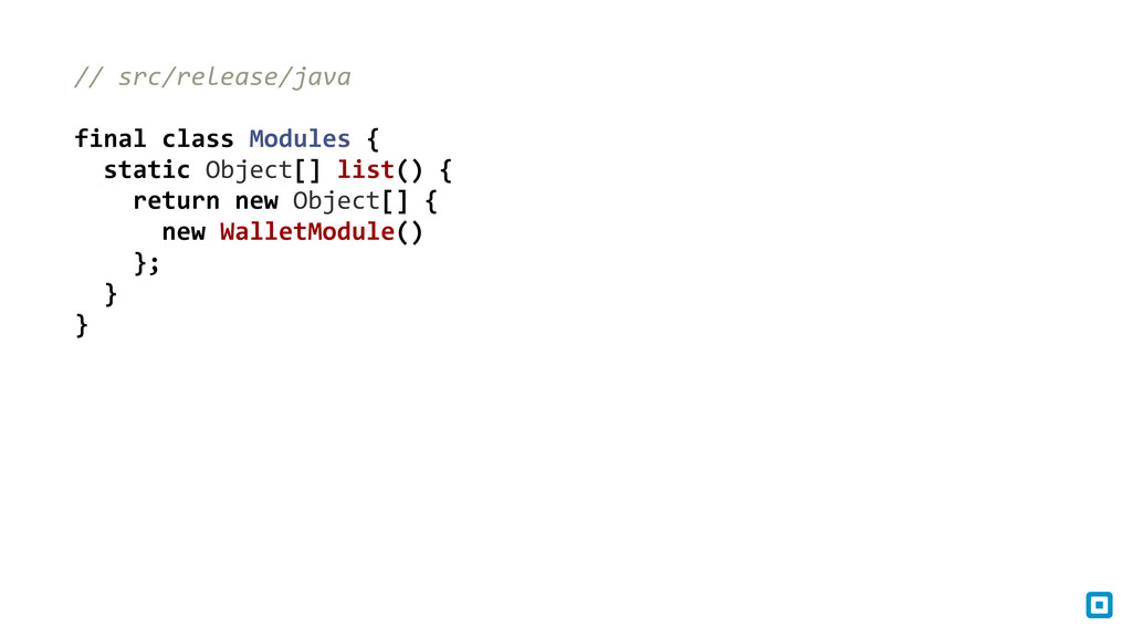 // src/release/java final class Module...