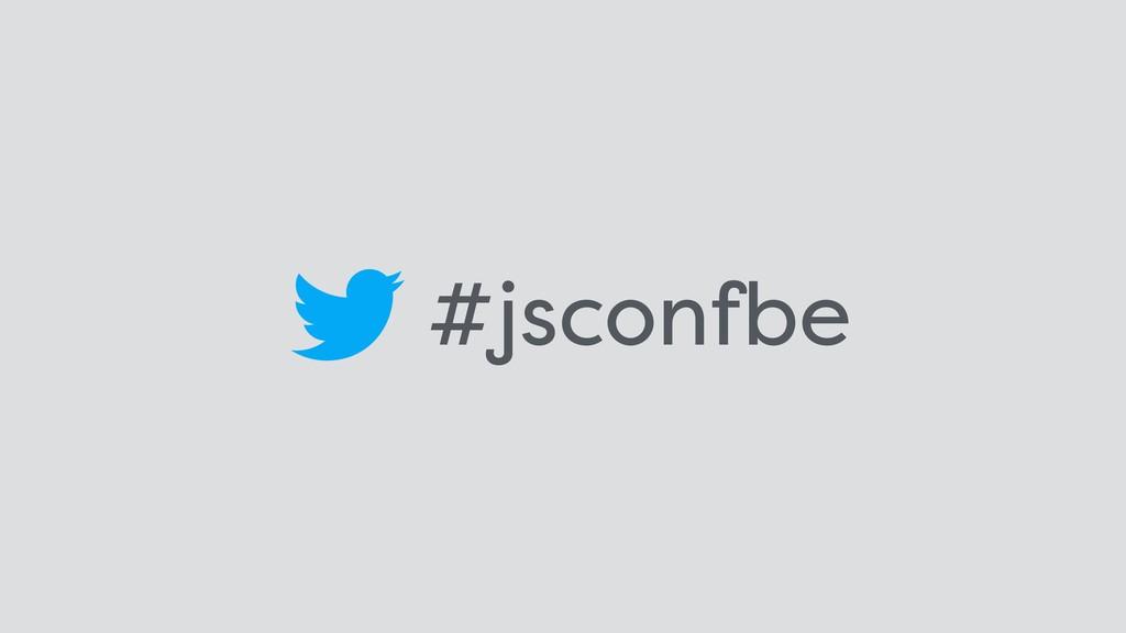 #jsconfbe
