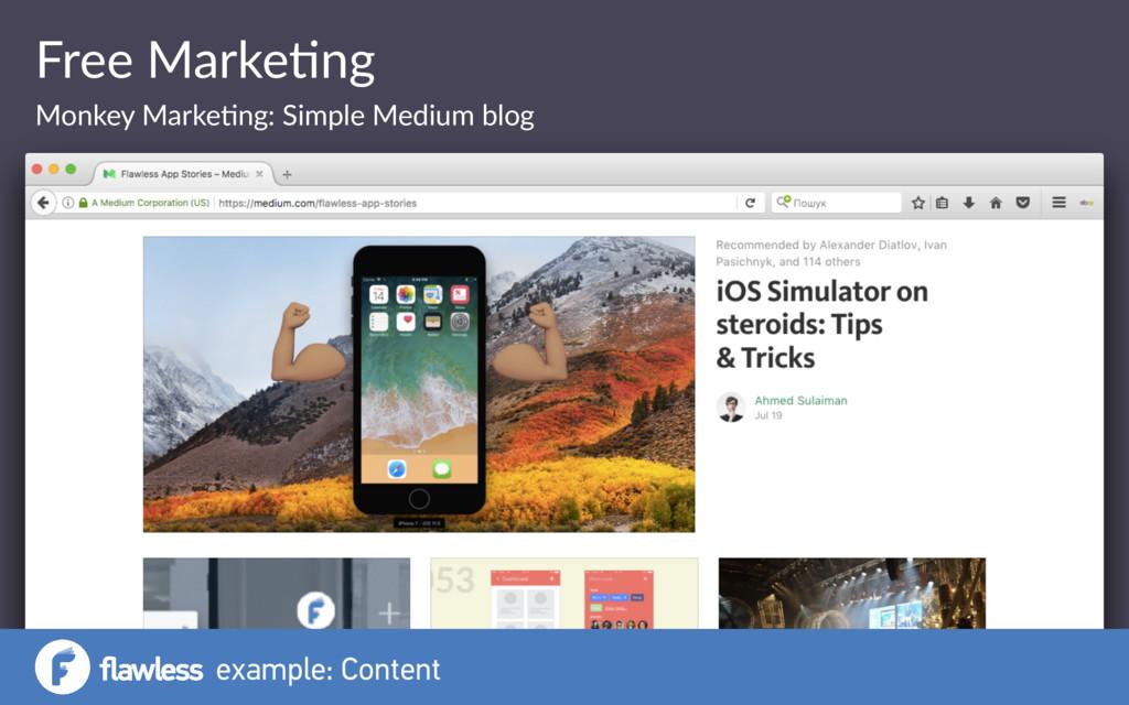 Free Marke(ng Monkey Marke(ng: Simple Medium bl...
