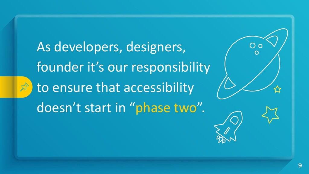 As developers, designers, founder it's our resp...