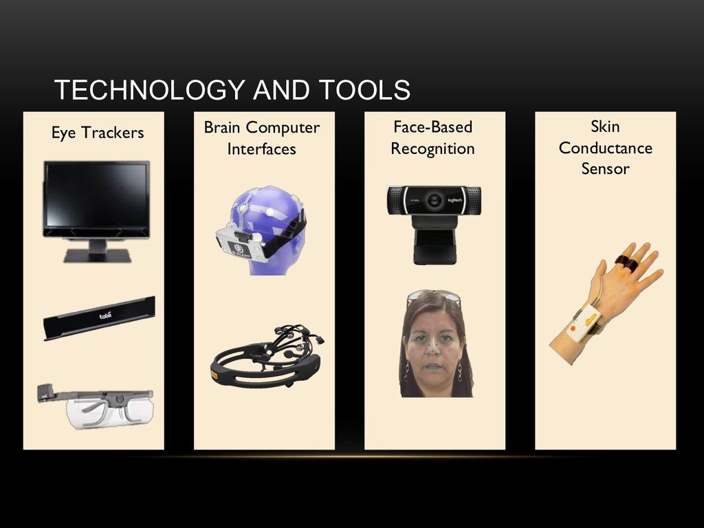 TECHNOLOGY AND TOOLS Eye Trackers Brain Compute...