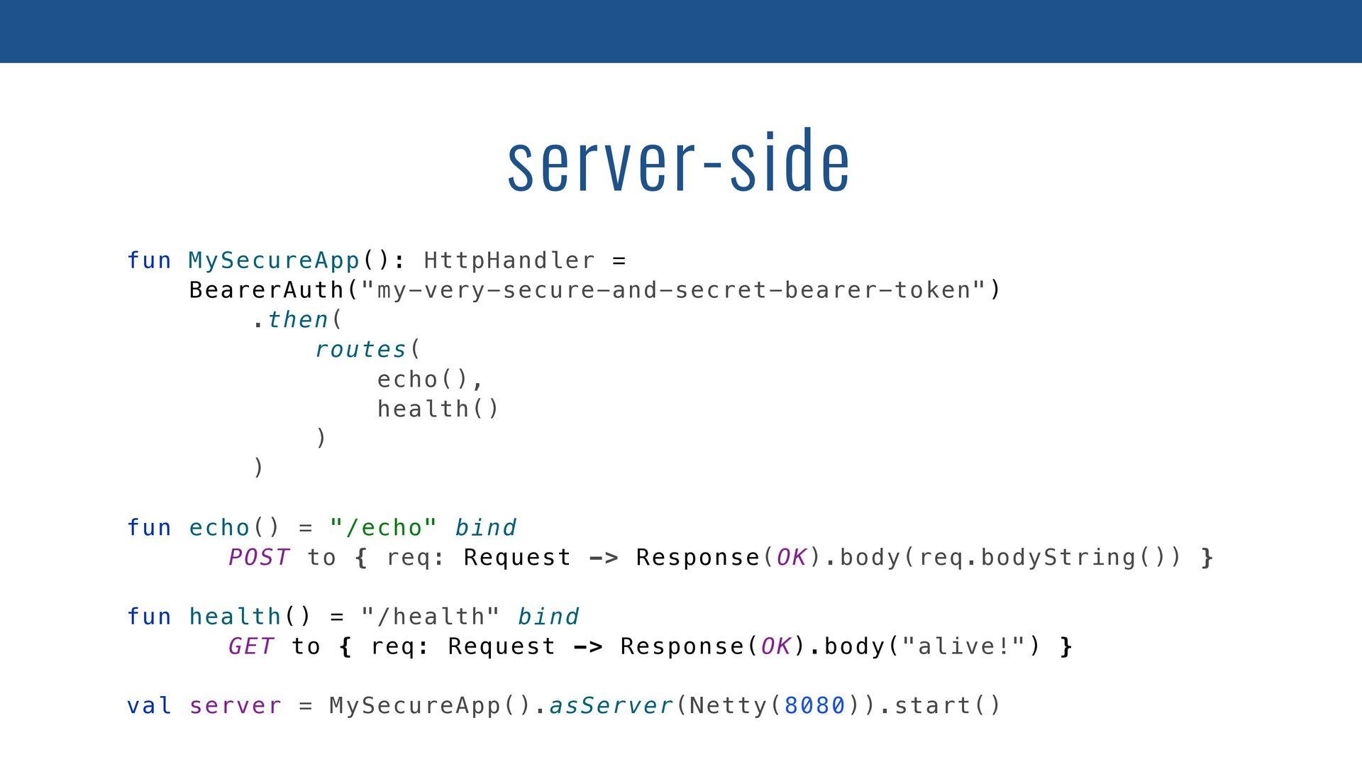 class GitHubApi(client: HttpHandler) { private ...