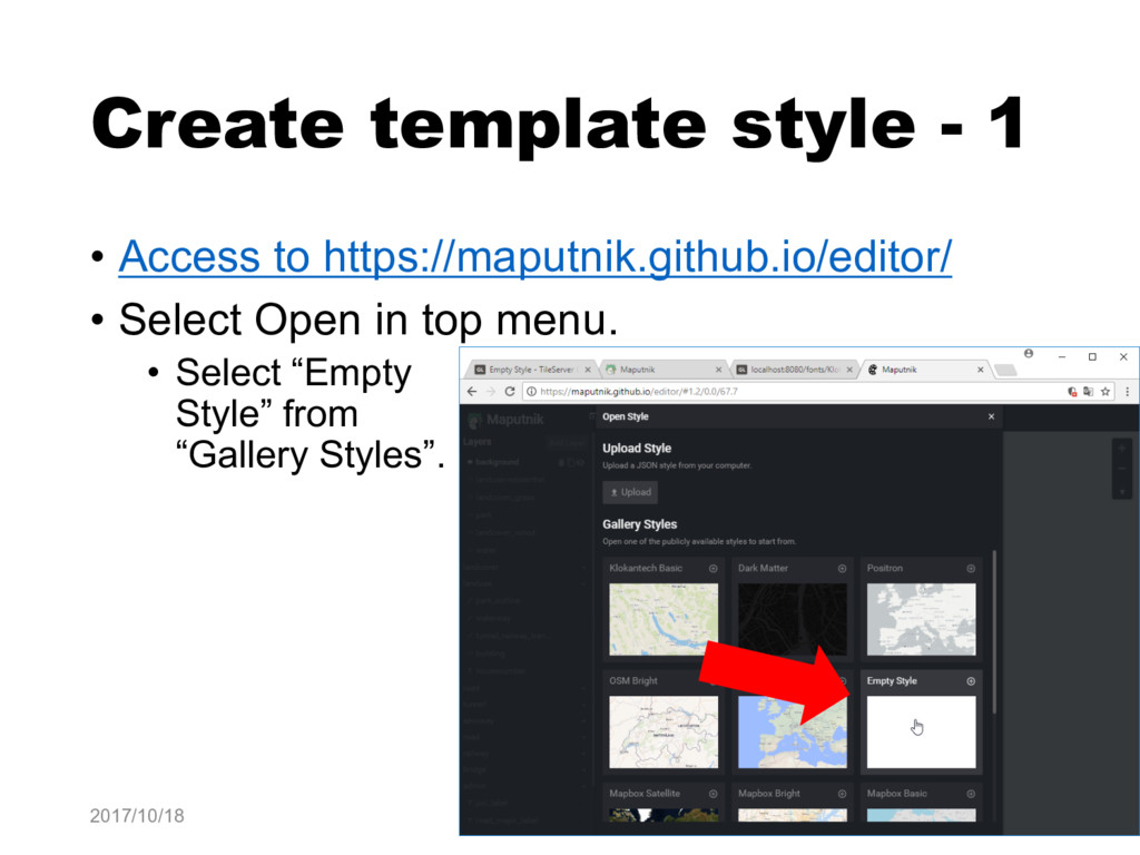 Create template style - 1 • Access to https://m...