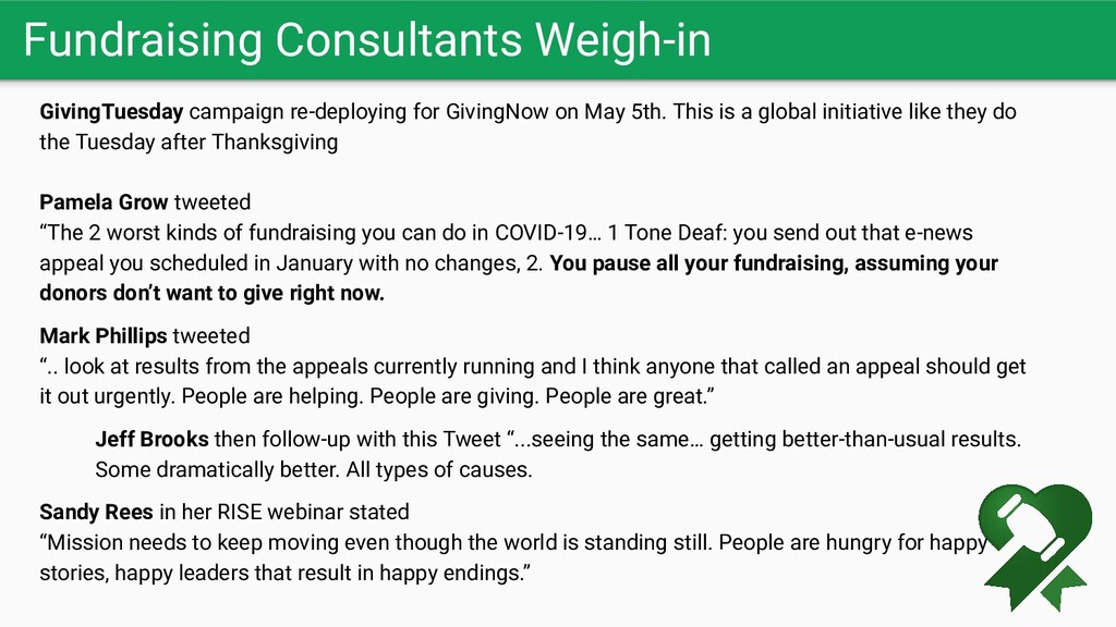 Fundraising Consultants Weigh-in GivingTuesday ...